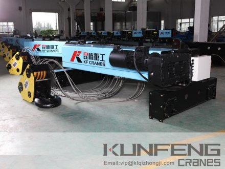 Double Rail Wire Rope Hoist Crane Hoist